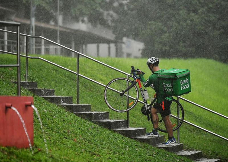 Yishun resident delivery riders