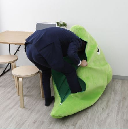 metapod sleeping bag now in japan so you can hibernate