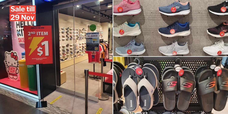 Skechers Sale Lets You Get 2nd Item At