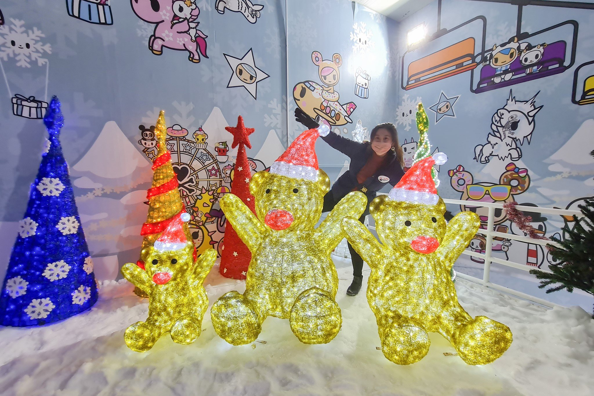Changi festive village