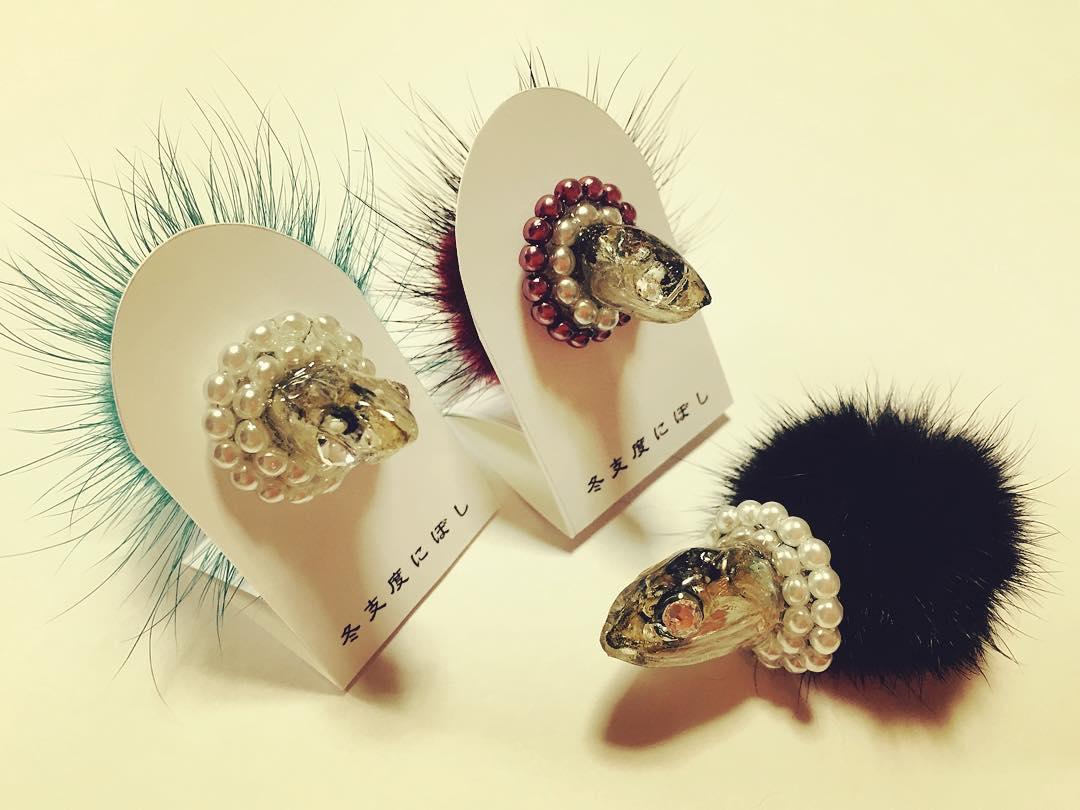 Ikan bilis hair pins