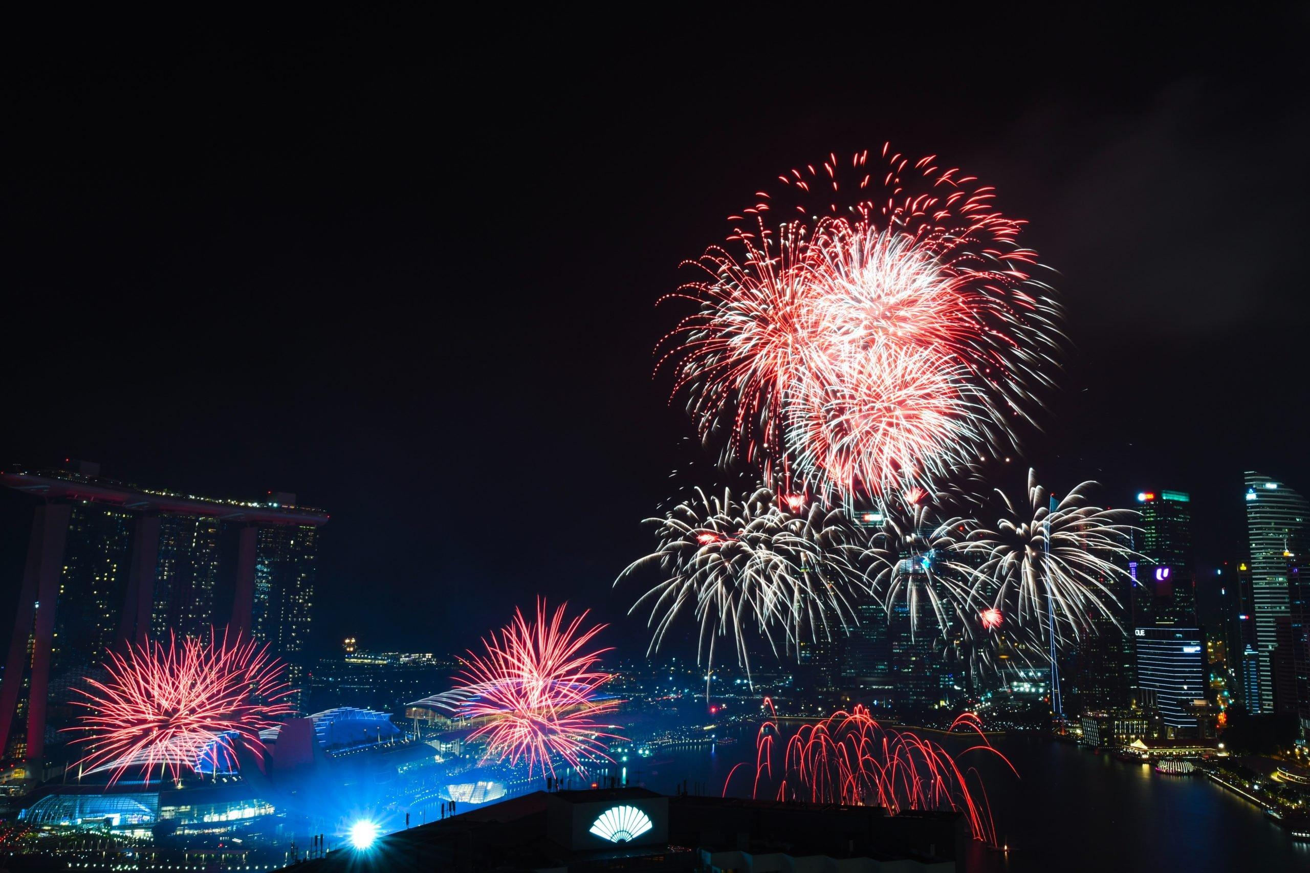 Fireworks venues