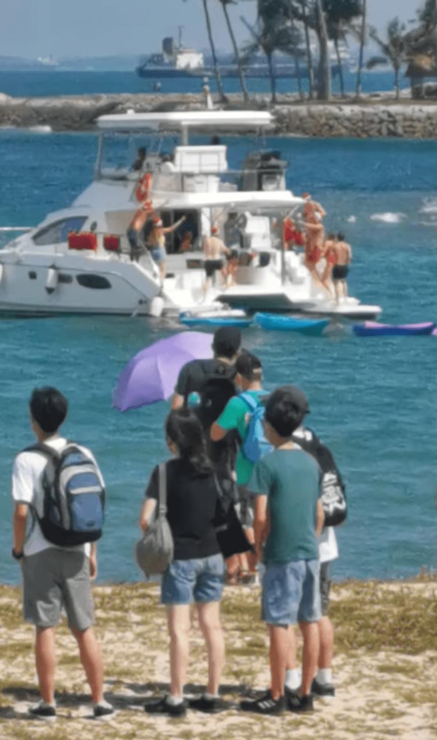 yacht party lazarus island