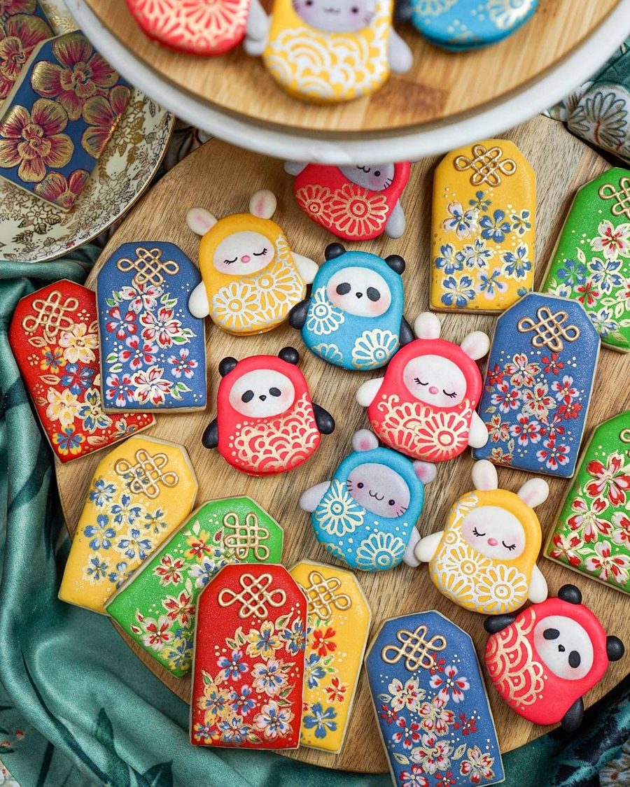protection charm cookies