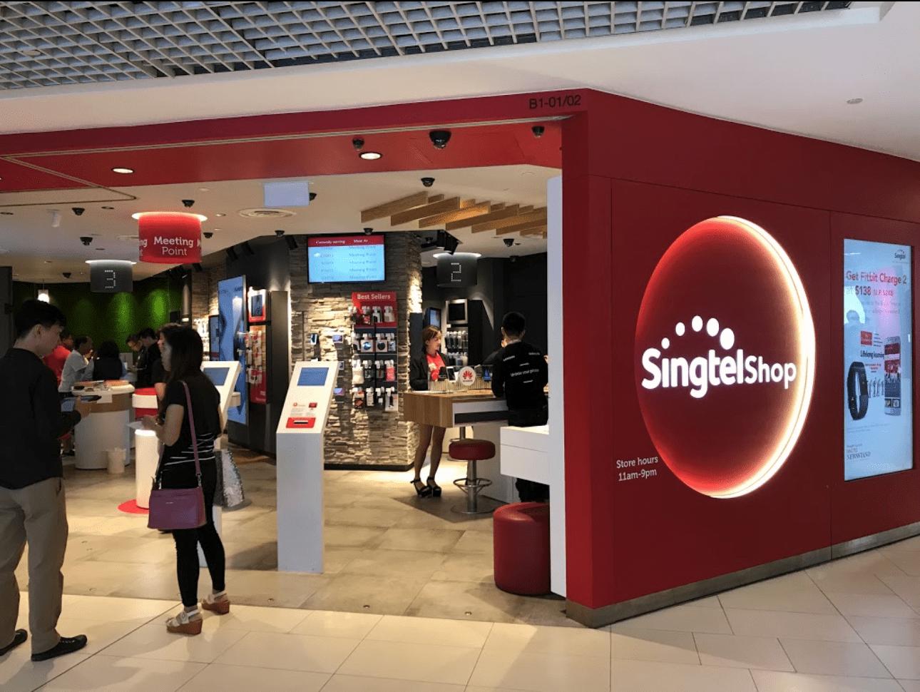 singtel staff sells details