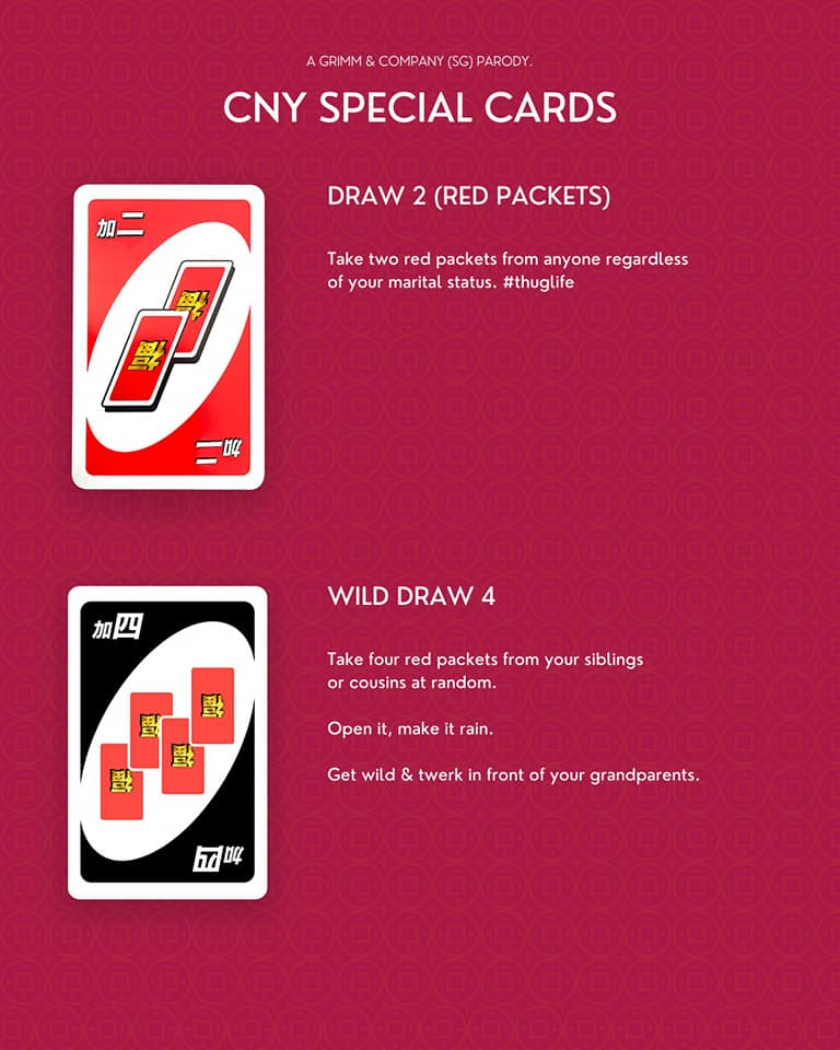 CNY UNO cards