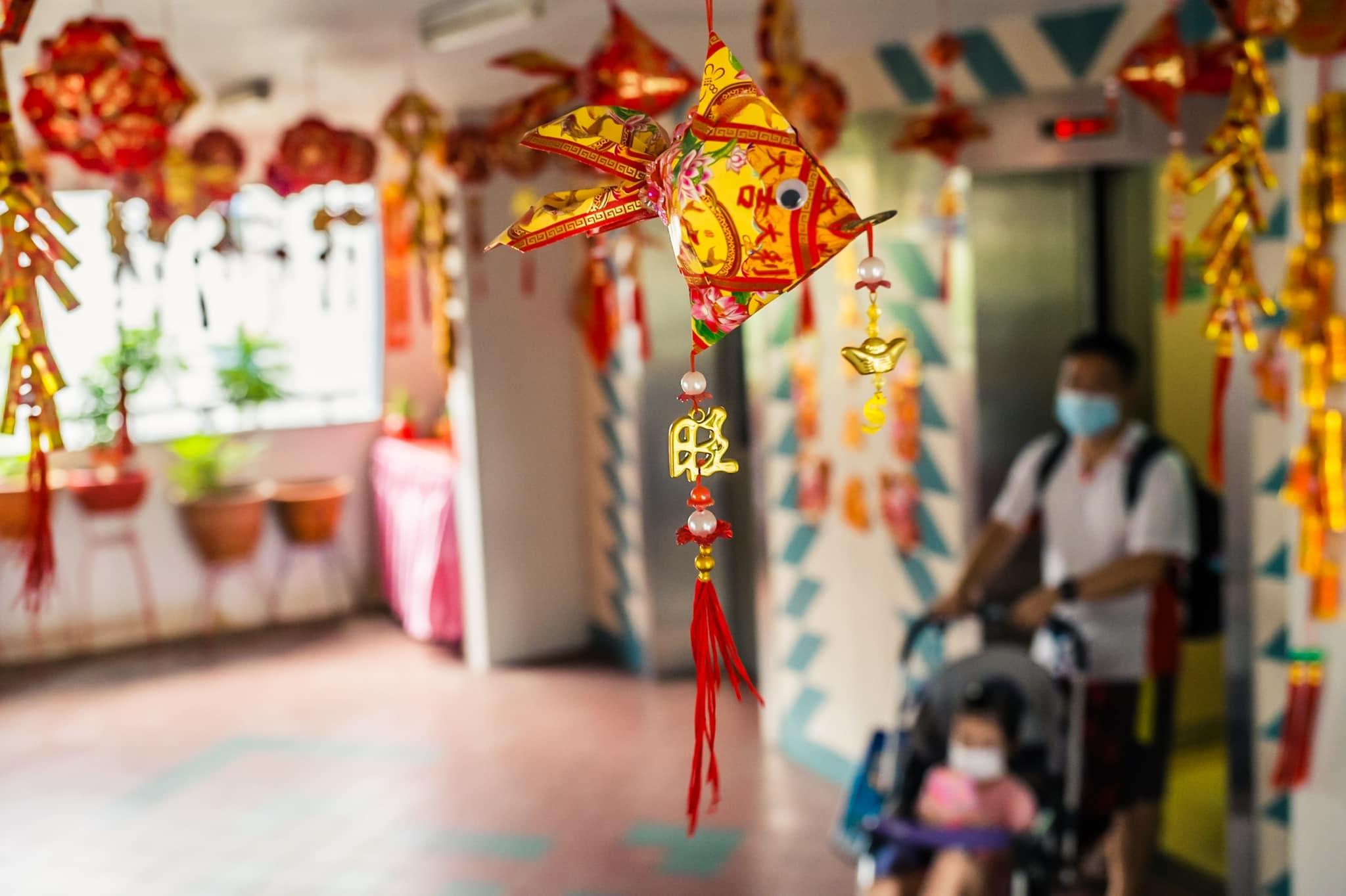 CNY decor Sengkang