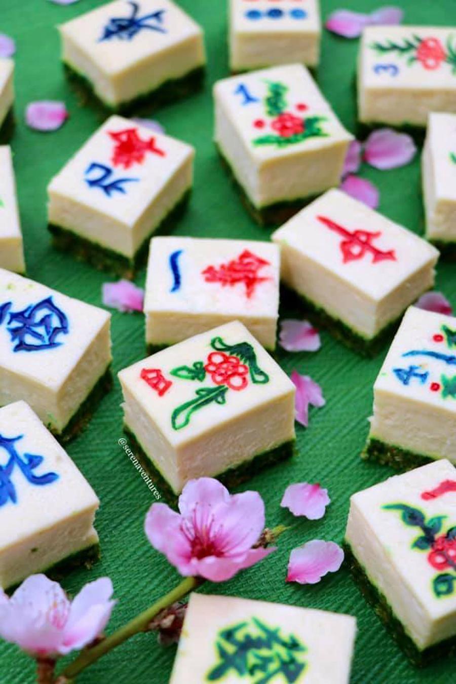mahjong cheesecake 1