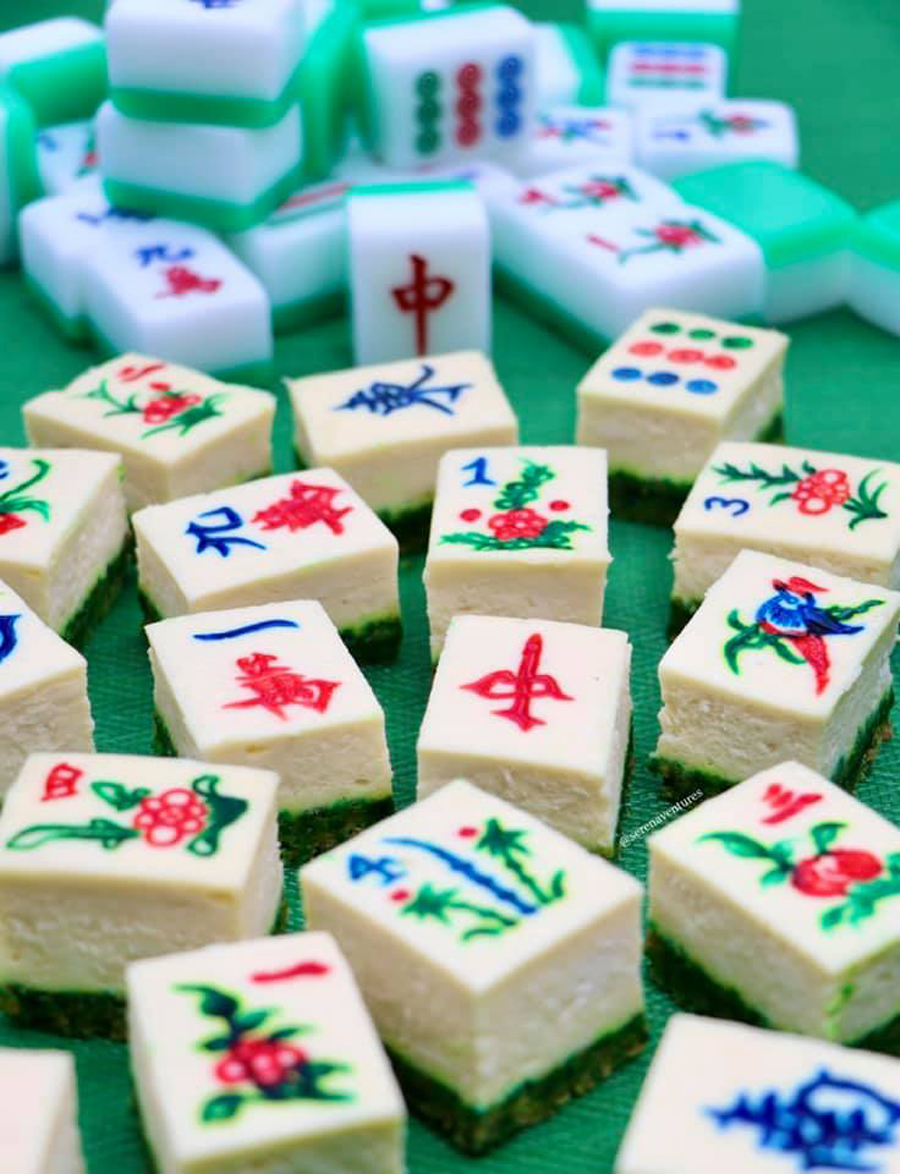 mahjong cheesecake