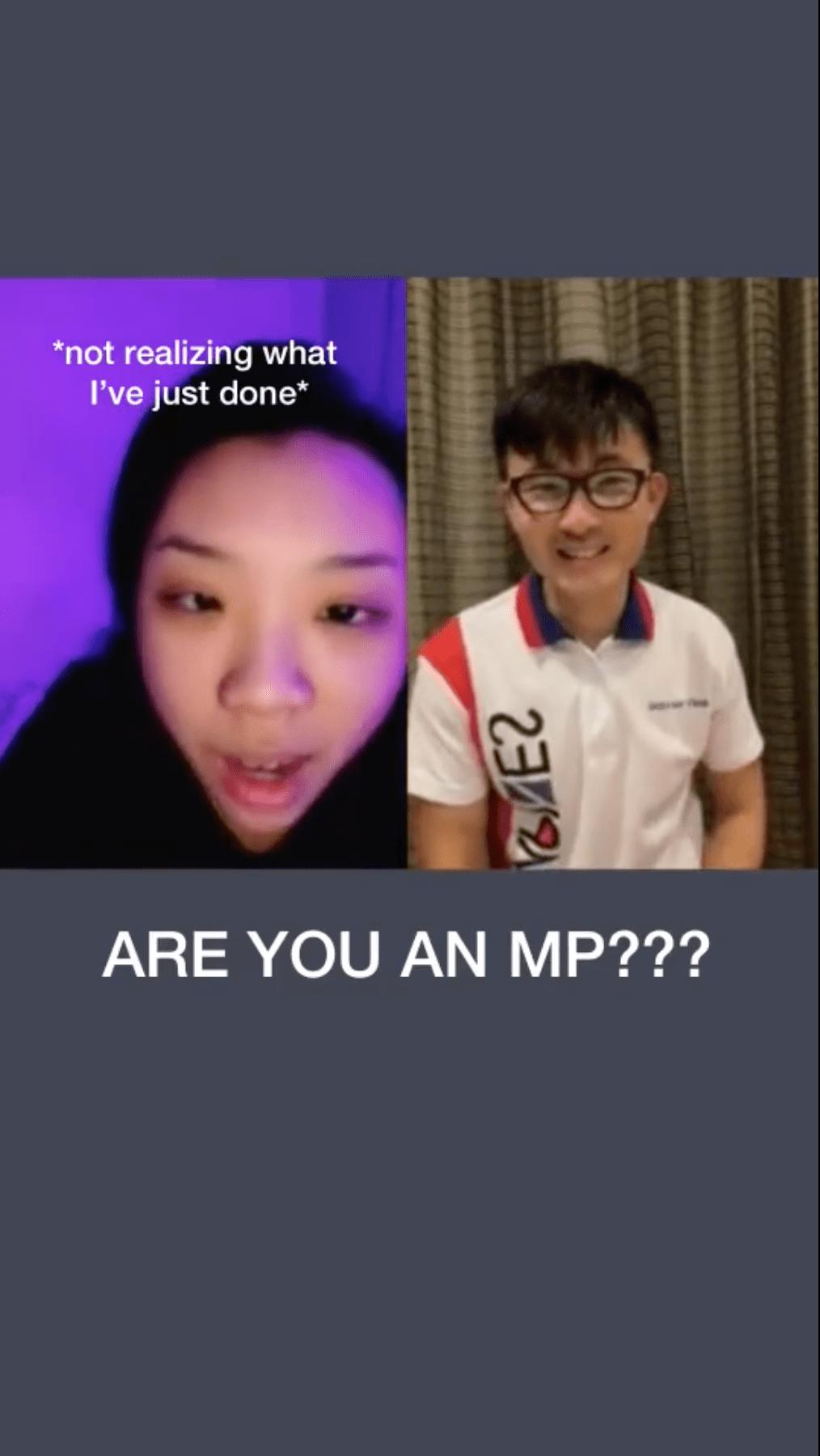 Tiktok MP Baey