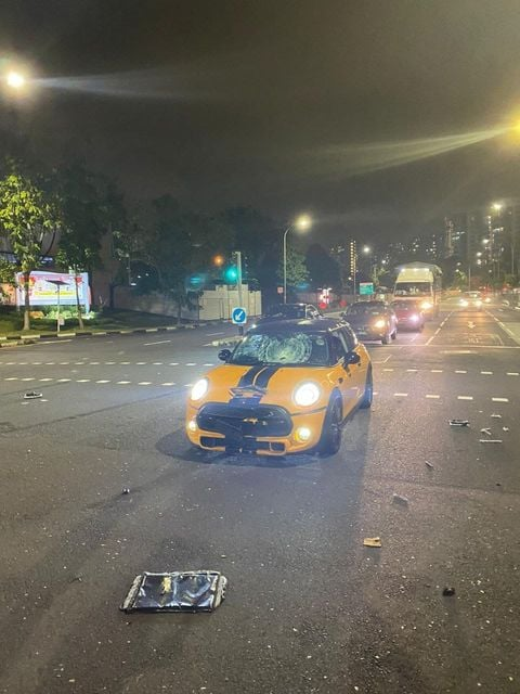 rider accident kovan
