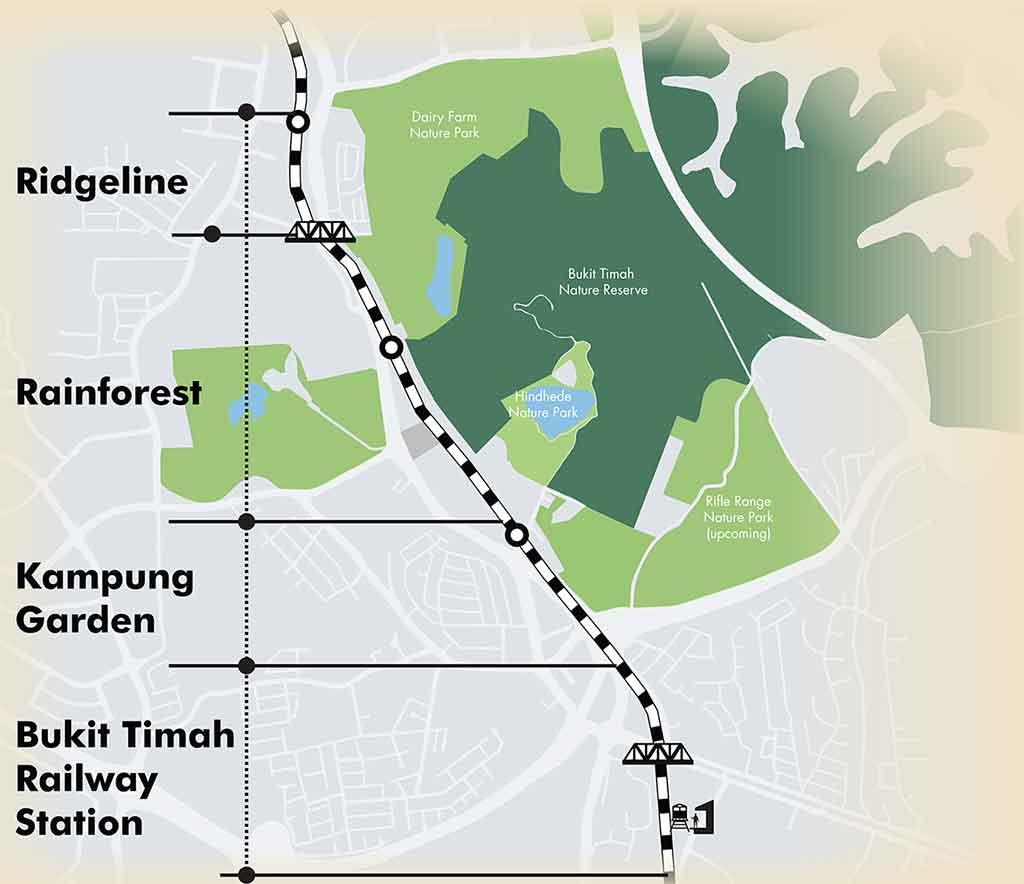 Rail corridor reopens