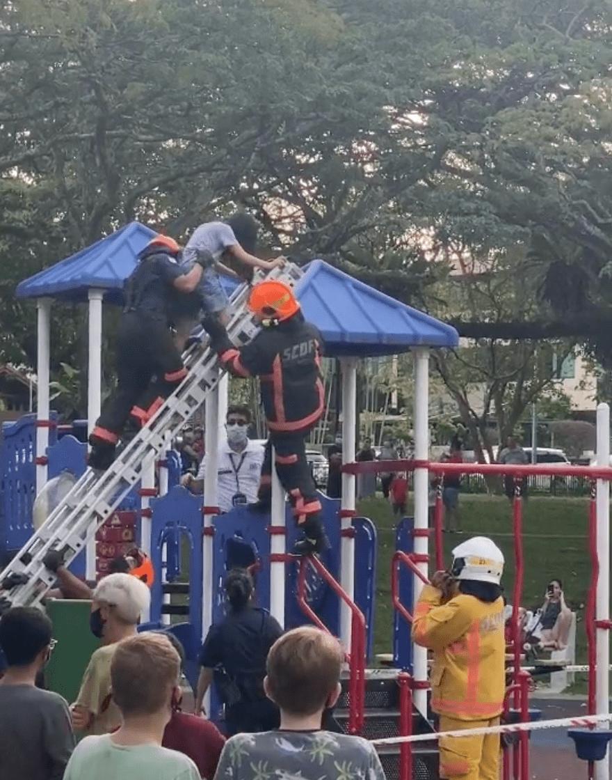 girl pasir ris playground