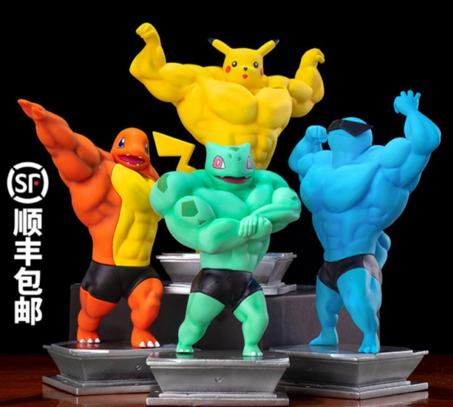 buff Pokémon figurines 2