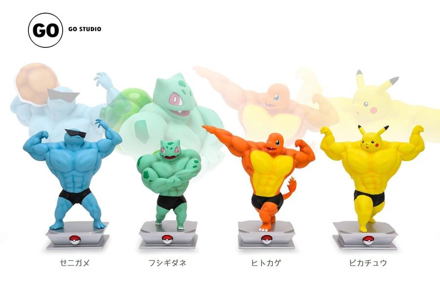 buff Pokémon figurines 1