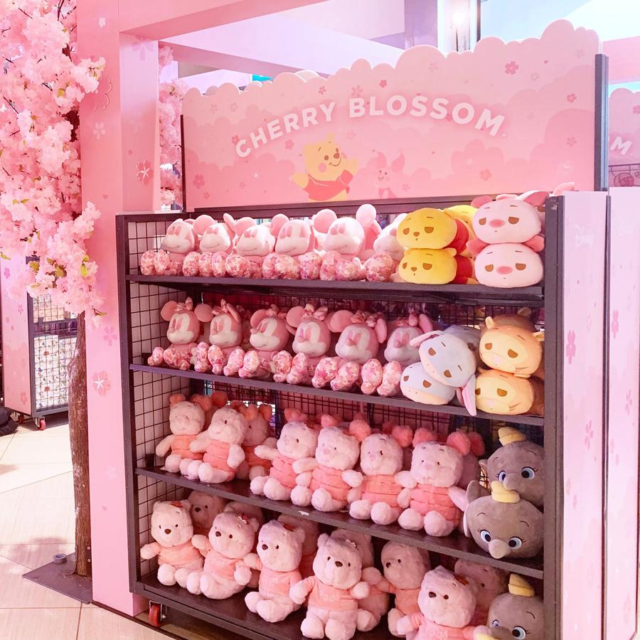 Cherry blossom Disney store 1