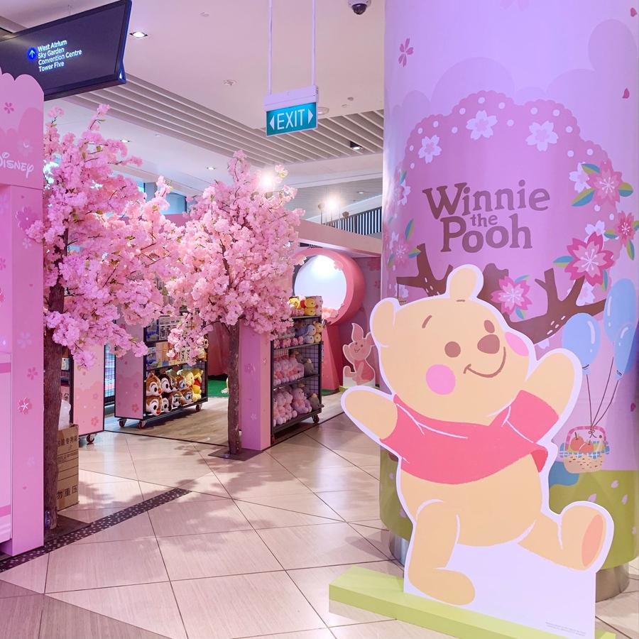 Cherry blossom Disney store