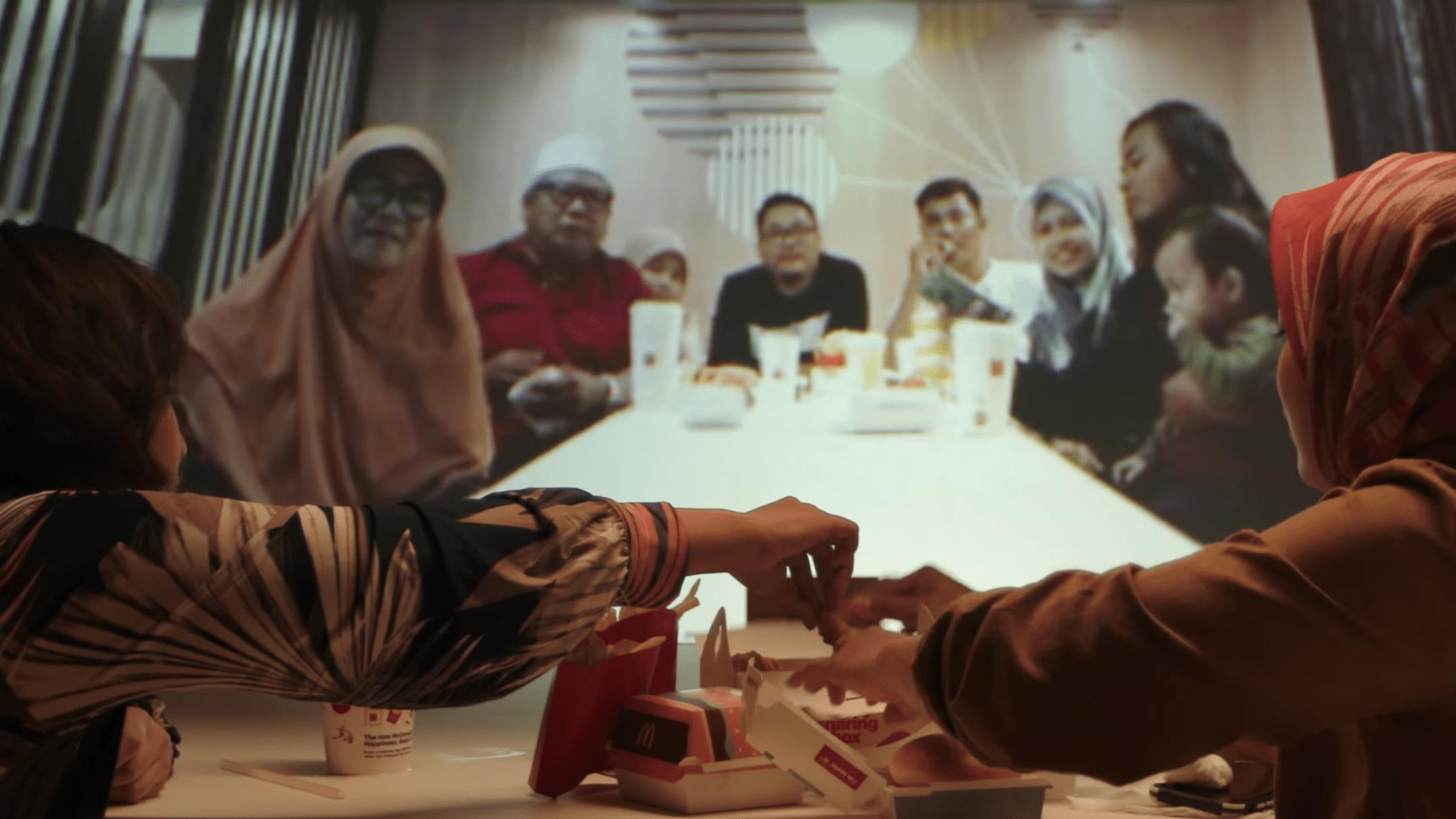 mcDonald's family ramadan