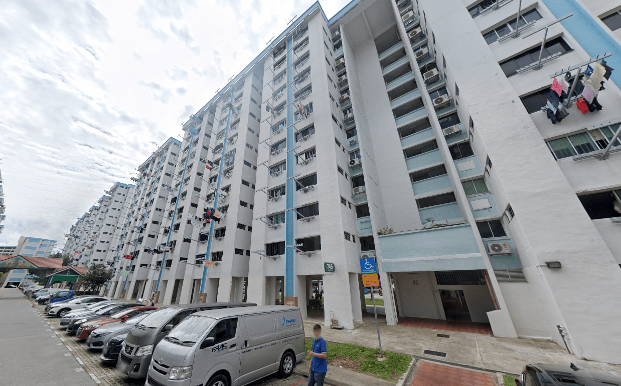 Block 745 Yishun Covid-19