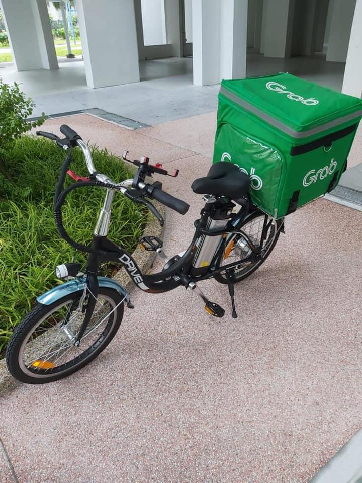 Grabfood bike stolen