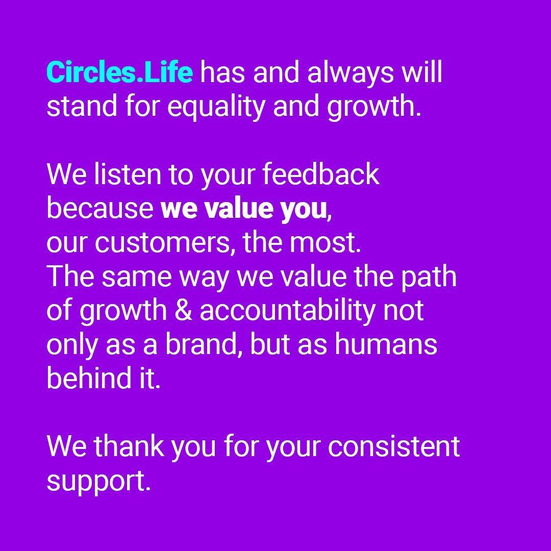 Circles.life ad tone-deaf