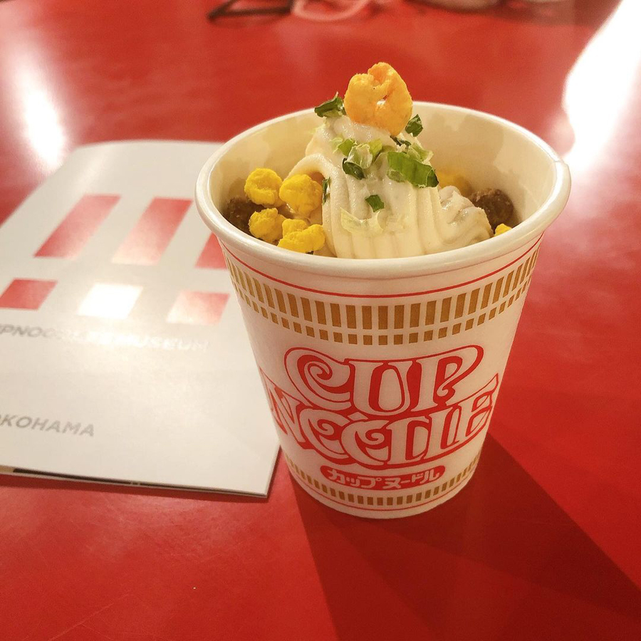 Cup noodle ice cream 2