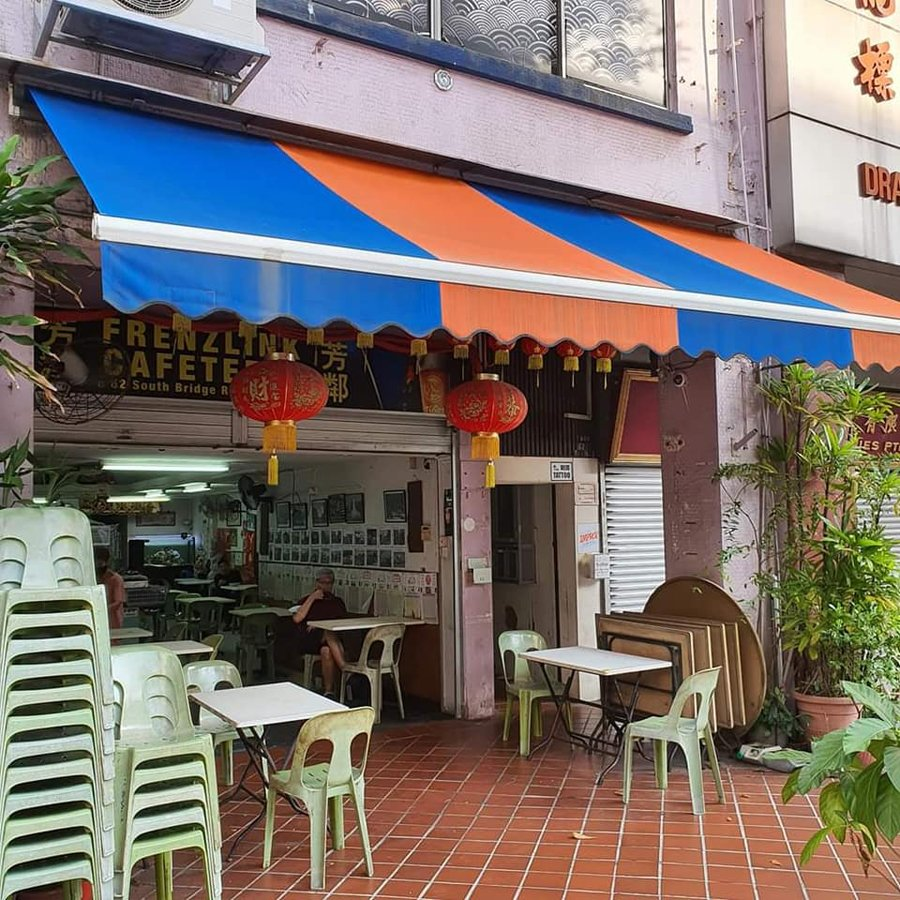 South Bridge Road eatery