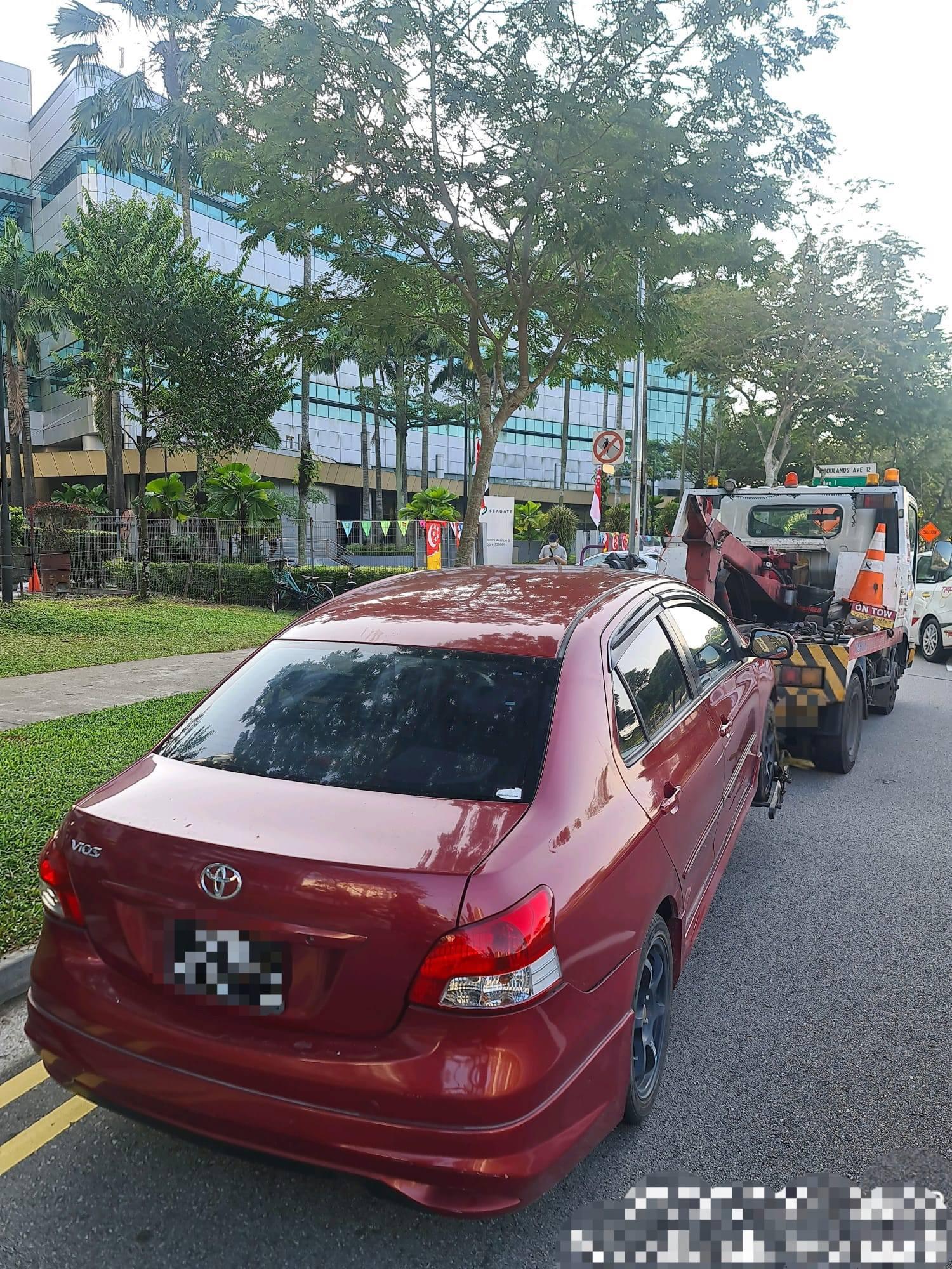 Illegal carpooling P2HA