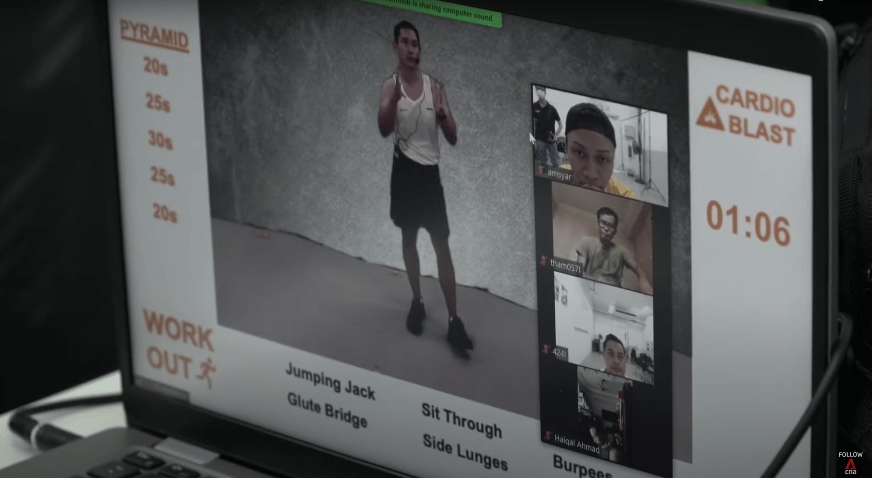 NSmen Virtual workouts