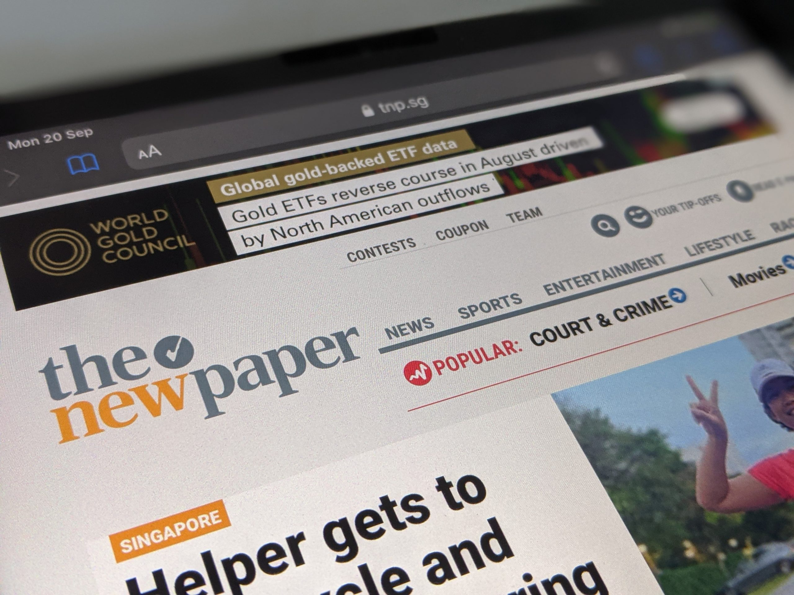 The New Paper digital