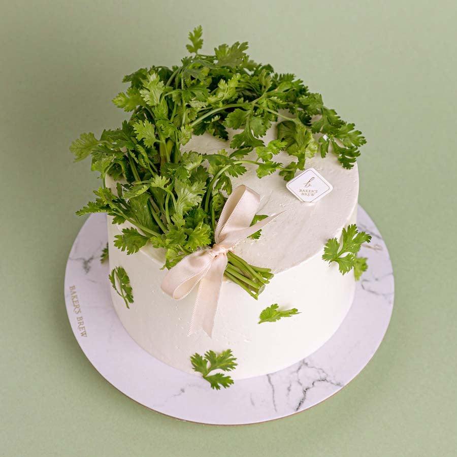 coriander cakes